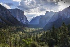 El Capitan, Yosemite national park, California, usa. World famous rock climbing wall of El Capitan, Yosemite national park, California, usa Royalty Free Stock Image