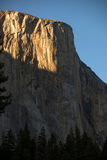 El Capitan. Yosemite National Park with dramatic lighting Royalty Free Stock Images