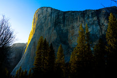 El Capitan in Yosemite National Park in Spring Royalty Free Stock Photography