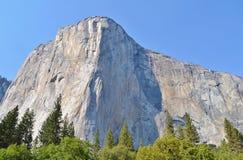 El Capitan; Yosemite nationalpark Royaltyfri Fotografi