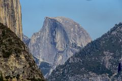 El Capitan, Yosemite, 2017. El Capitan rises above Yosemite National Park, September 2017 Royalty Free Stock Images
