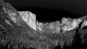 El Capitan, Yosemite, 2017. El Capitan rises above Yosemite National Park, September 2017 Royalty Free Stock Photos