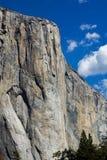 El Capitan - Yosemite. The rugged sheer granite face of El Capitan in Yosemite Valley, California Stock Photography
