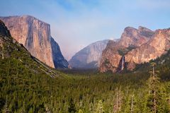 El Capitan, Yosemite Valley stock photography