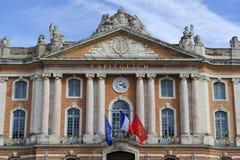El Capitole de Toulouse - Francia-Tourisme Fotos de archivo libres de regalías