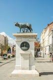 El Capitoline Wolf Statue Foto de archivo