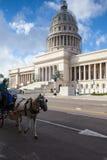 EL Capitolio ή εθνικό κτήριο Capitol στην Αβάνα, Κούβα Στοκ εικόνα με δικαίωμα ελεύθερης χρήσης
