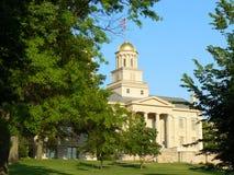 El capitolio en Iowa City Foto de archivo libre de regalías