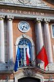 El capitolio en Toulouse Fotos de archivo libres de regalías