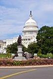 El capitolio en Washington Fotos de archivo libres de regalías