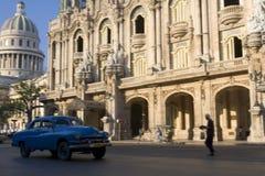 El Capitolio and Gran Teatro de La Habana Alicia Alonso stock photo