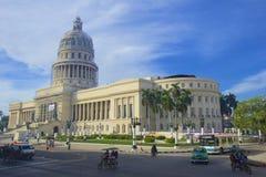 El Capitolio, or National Capitol Building in Havana, Cuba Royalty Free Stock Photos