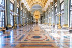 El Capitolio, or National Capitol Building in Havana royalty free stock images