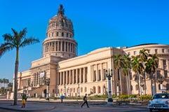 EL Capitolio a vecchia Avana Immagini Stock Libere da Diritti