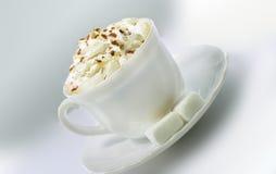 El Cappuccino Foto de archivo libre de regalías