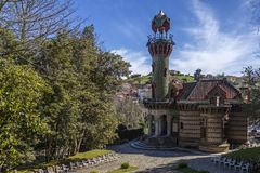El Capricho - Comillas - Spain Stock Photo