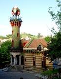 El Capricho vid Gaudi arkivbild