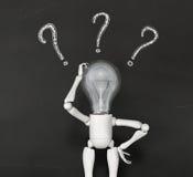 El carácter de la lámpara no tiene ninguna solución libre illustration