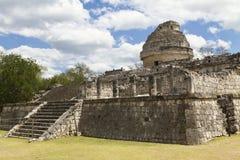 EL Caracol di Chichén Itzá Immagini Stock Libere da Diritti