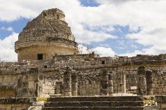 EL Caracol di Chichén Itzá Immagini Stock