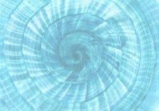 El caracol formó el fondo azul Infante de marina, tema de la playa del mar y de la travesía stock de ilustración