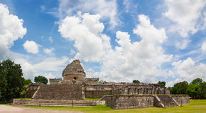 El Caracol The observatory at Chichen Itza royalty free stock photos