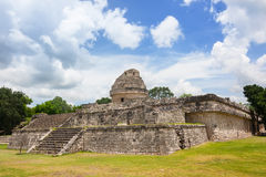 El Caracol The observatory at Chichen Itza Stock Images