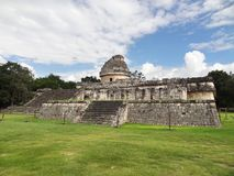 El Caracol observatory temple in Chichen Itza Royalty Free Stock Image