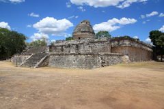 El Caracol,temple in Chichen Itza, Mexico Royalty Free Stock Photos