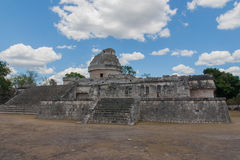 El Caracol,temple in Chichen Itza, Mexico Stock Images