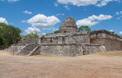 El Caracol,temple in Chichen Itza, Mexico Royalty Free Stock Image