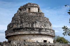 El Caracol tower in Chichen Itza Royalty Free Stock Images
