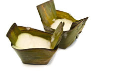 El caramelo asiático hizo la harina de arroz pegajoso   Imágenes de archivo libres de regalías
