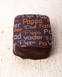El caramelo de chocolate Imagenes de archivo