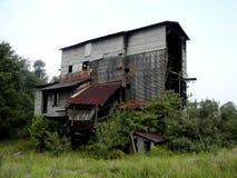 El carbón abandonado tipple Imagen de archivo