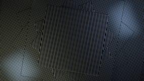 El carbono artesona el fondo Ilustración del Vector