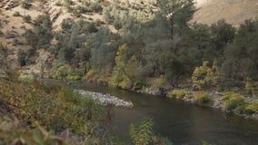 El cardán abajo tiró del río merced en d3ia Fotografía de archivo