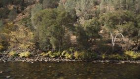 El cardán abajo tiró del río merced en d3ia Fotos de archivo