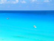 El Caribe azul Foto de archivo libre de regalías