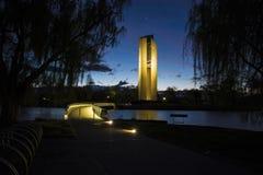 El carillón, Canberra Foto de archivo libre de regalías