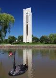 El carillón nacional en Canberra, Australia foto de archivo