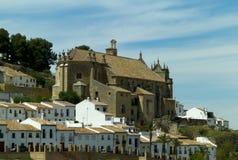 El Carmen church, Antequera Stock Images