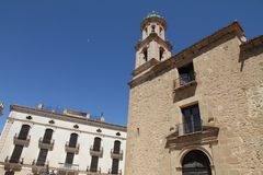 El Carmen church,Rubielos de Mora ,Spain Stock Photography