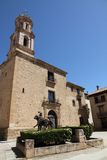 El Carmen church,Rubielos de Mora ,Spain Royalty Free Stock Photo
