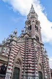El Carmen kościół w Bogota zdjęcie royalty free