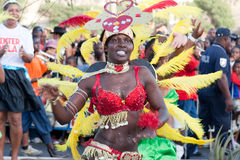 El carnaval anual en Cabo Verde 2011 Fotos de archivo libres de regalías