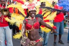 El carnaval anual en Cabo Verde 2011 Imagen de archivo libre de regalías