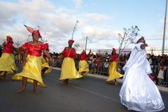El carnaval anual en Cabo Verde 2011 Fotografía de archivo
