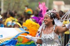 El carnaval anual en la capital en Cabo Verde, Praia Imagenes de archivo