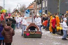 El carnaval de los niños en los Países Bajos imagen de archivo